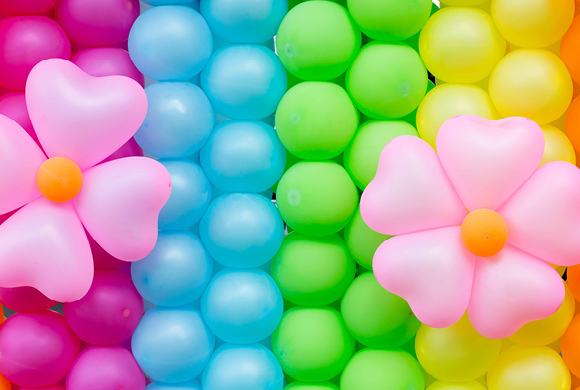 Ballonnen het viooltje for Ballonnen decoratie zelf maken